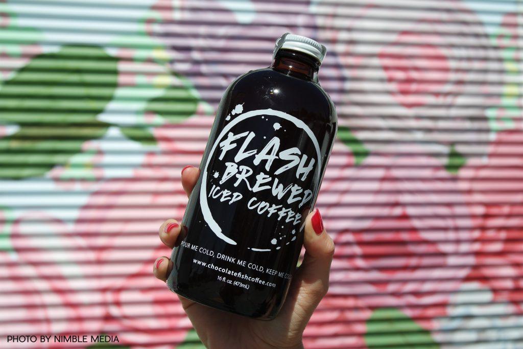 iced coffee bottle design