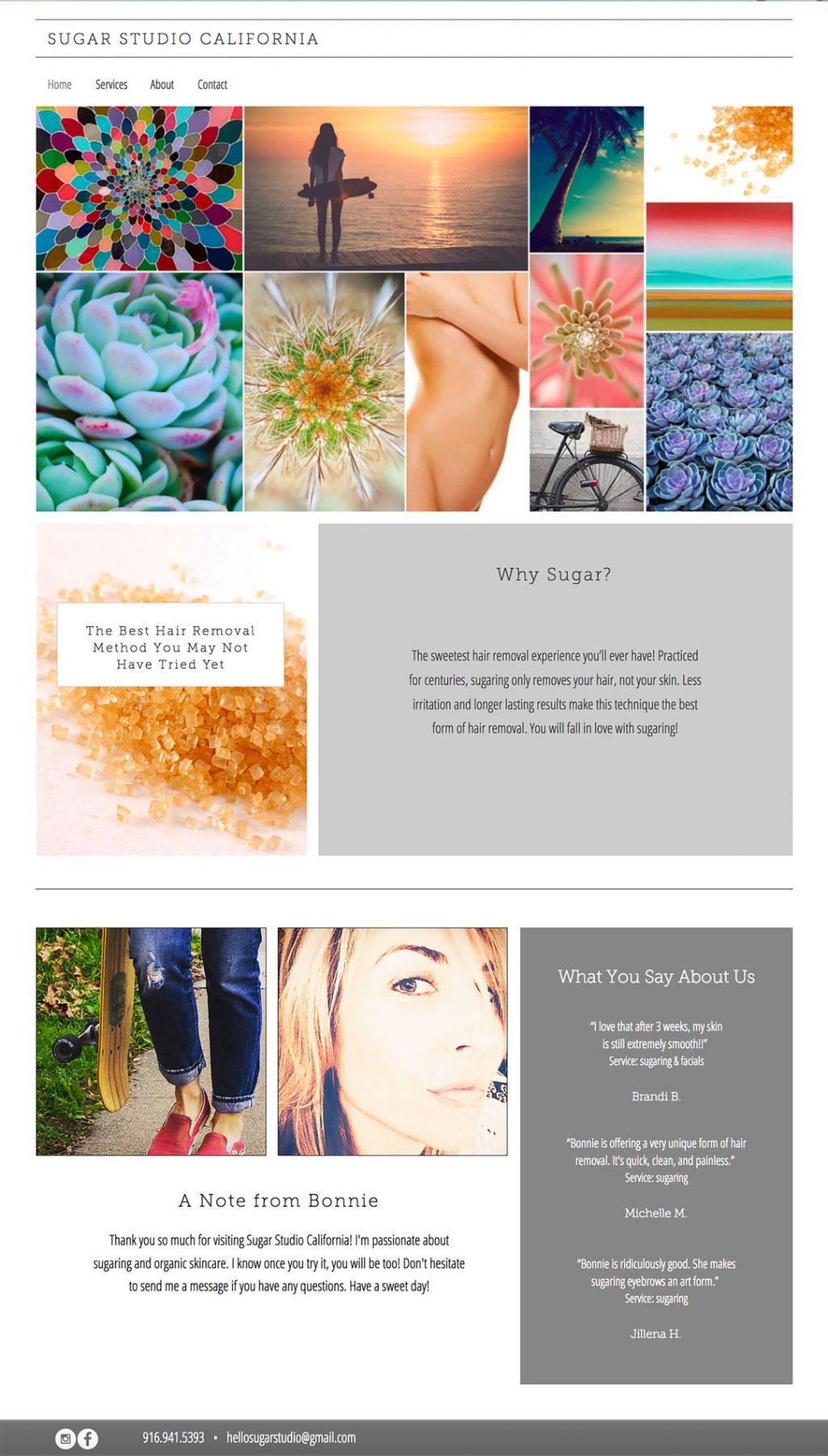 sugar studio website