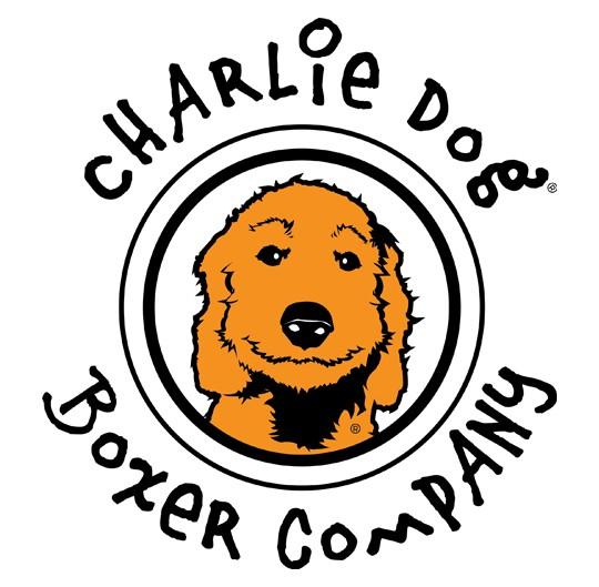 charlie dog boxer company logo